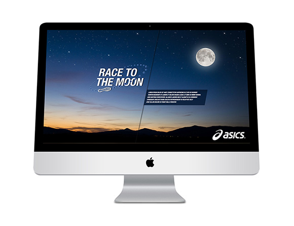 Race to the Moon Homepage